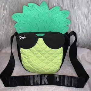 PINK VICTORY SECRET PINAPPLE COOLER BAG